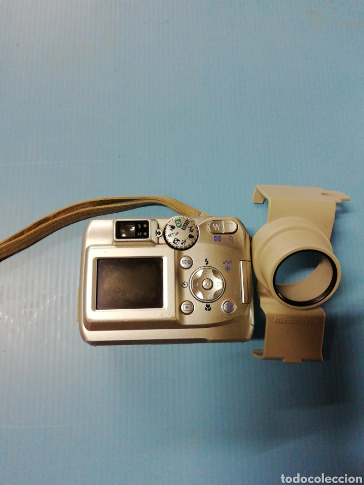 Cámara de fotos: Cámara digital Nikon coolpix 2200 con adaptador - Foto 3 - 178006064