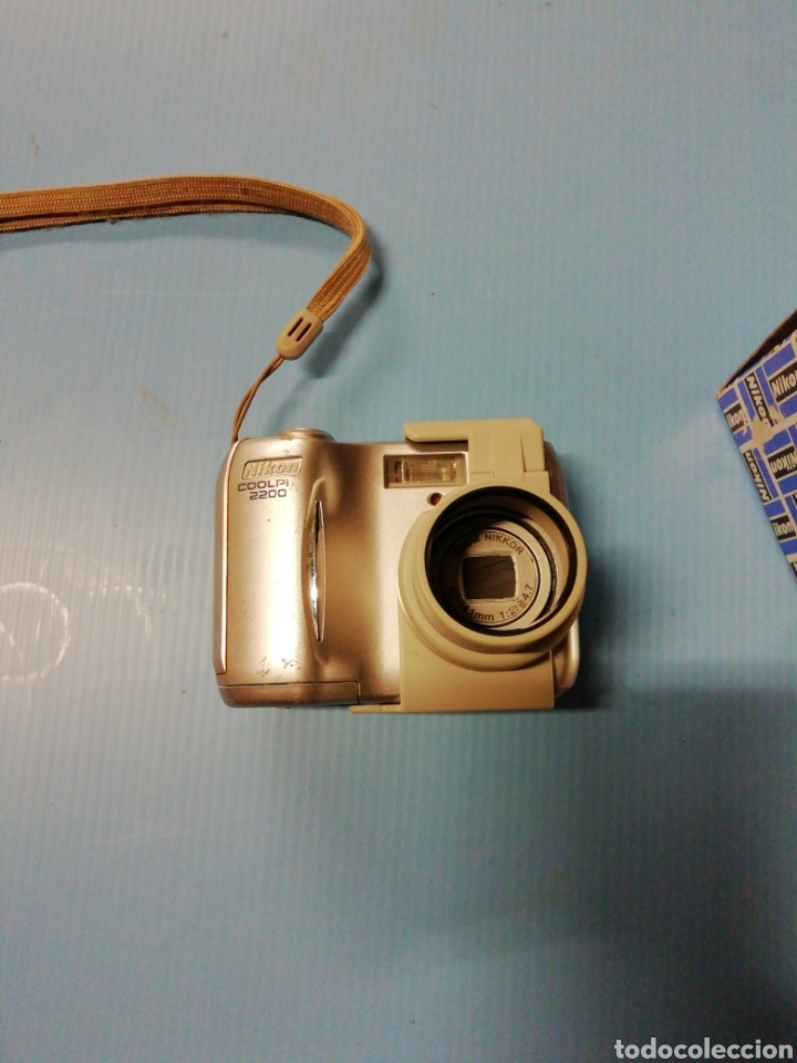 Cámara de fotos: Cámara digital Nikon coolpix 2200 con adaptador - Foto 5 - 178006064