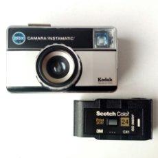 Cámara de fotos: KODAK INSTAMATIC 255X + CARRETE EXPUESTO (CARTUCHO FORMATO 126) - MADE IN SPAIN - LOMOGRAFÍA LOMO. Lote 178332436