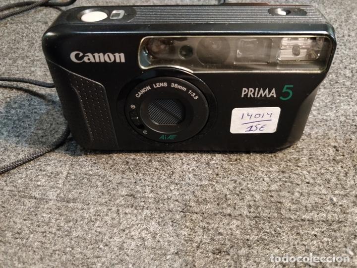 Cámara de fotos: Cámara CANON Prima 5 con funda original - 1991 - Foto 2 - 180297758