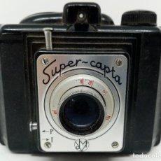 Cámara de fotos: CÁMARA BAQUELITA SUPER CAPTA AÑOS 30. Lote 183586136