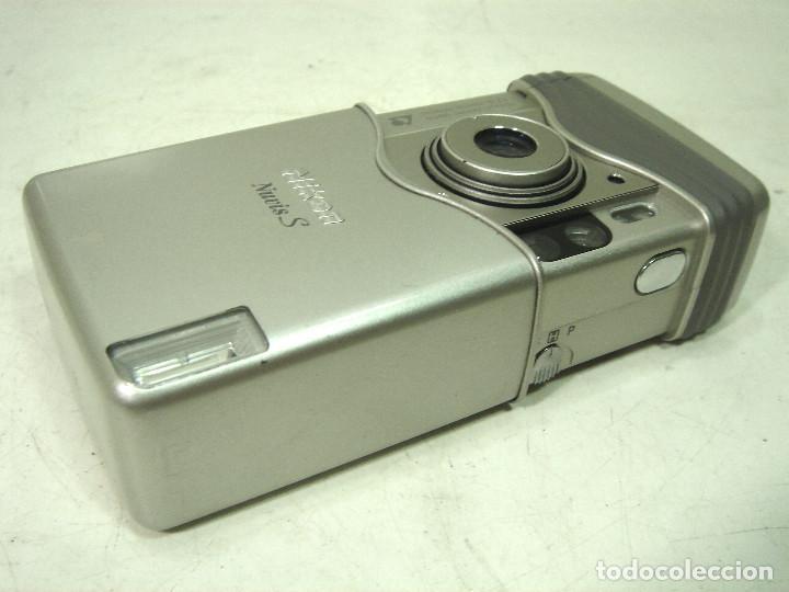 Cámara de fotos: CAMARA FOTOS COMPACTA - NIKON NUVIS S AÑO 2000 -APS ¡¡FUNCIONANDO¡¡ NUVISS FOTOGRAFICA - Foto 5 - 183613813