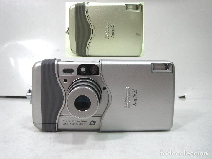 CAMARA FOTOS COMPACTA - NIKON NUVIS S AÑO 2000 -APS ¡¡FUNCIONANDO¡¡ NUVISS FOTOGRAFICA (Cámaras Fotográficas - Panorámicas y Compactas)