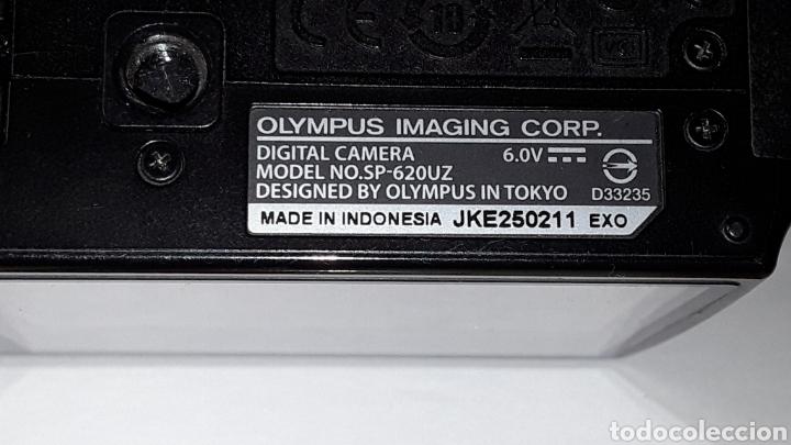 Cámara de fotos: -OLIMPUS SP-620UZ-CAMARA COMPACTA 16MP -PANTALLA 3- ZOOM OPTICO 21X--FUNCIONANDO - Foto 3 - 183681807