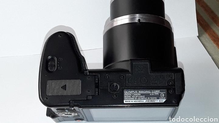 Cámara de fotos: -OLIMPUS SP-620UZ-CAMARA COMPACTA 16MP -PANTALLA 3- ZOOM OPTICO 21X--FUNCIONANDO - Foto 4 - 183681807