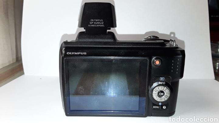 Cámara de fotos: -OLIMPUS SP-620UZ-CAMARA COMPACTA 16MP -PANTALLA 3- ZOOM OPTICO 21X--FUNCIONANDO - Foto 7 - 183681807