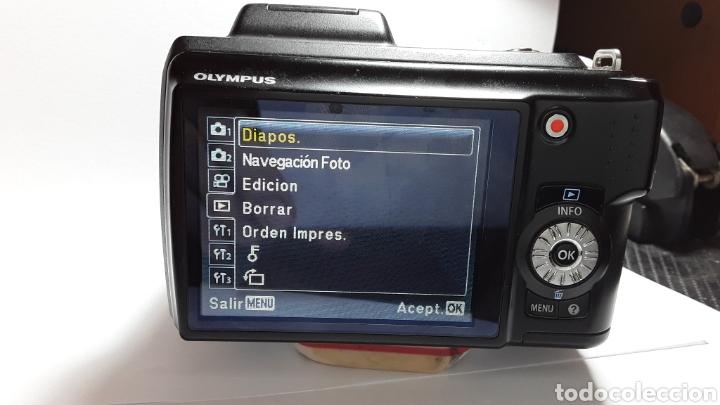 Cámara de fotos: -OLIMPUS SP-620UZ-CAMARA COMPACTA 16MP -PANTALLA 3- ZOOM OPTICO 21X--FUNCIONANDO - Foto 14 - 183681807
