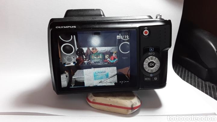 Cámara de fotos: -OLIMPUS SP-620UZ-CAMARA COMPACTA 16MP -PANTALLA 3- ZOOM OPTICO 21X--FUNCIONANDO - Foto 16 - 183681807