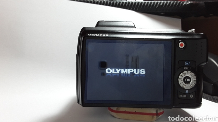 Cámara de fotos: -OLIMPUS SP-620UZ-CAMARA COMPACTA 16MP -PANTALLA 3- ZOOM OPTICO 21X--FUNCIONANDO - Foto 9 - 183681807