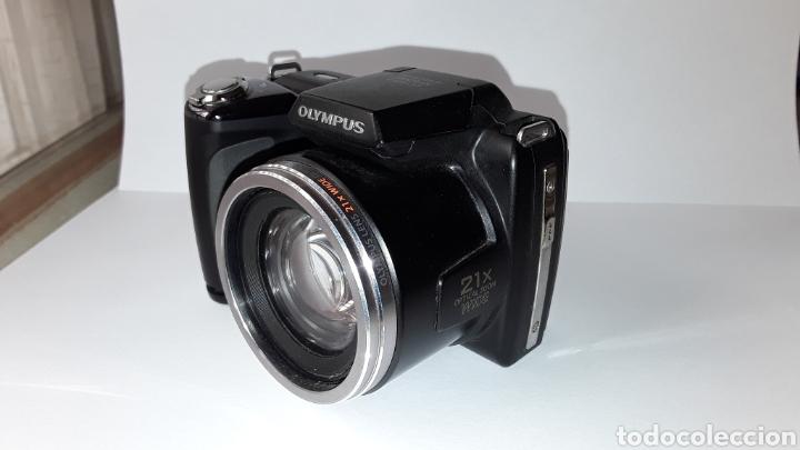 Cámara de fotos: -OLIMPUS SP-620UZ-CAMARA COMPACTA 16MP -PANTALLA 3- ZOOM OPTICO 21X--FUNCIONANDO - Foto 24 - 183681807