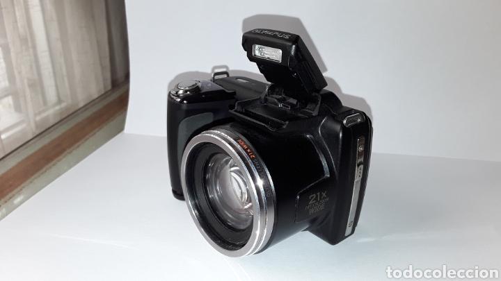 -OLIMPUS SP-620UZ-CAMARA COMPACTA 16MP -PANTALLA 3- ZOOM OPTICO 21X--FUNCIONANDO (Cámaras Fotográficas - Panorámicas y Compactas)