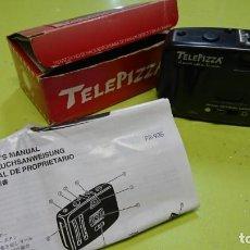 Cámara de fotos: CÁMARA DE FOTOS PROMOCIONAL TELEPIZZA Y COCA-COLA. Lote 185896517