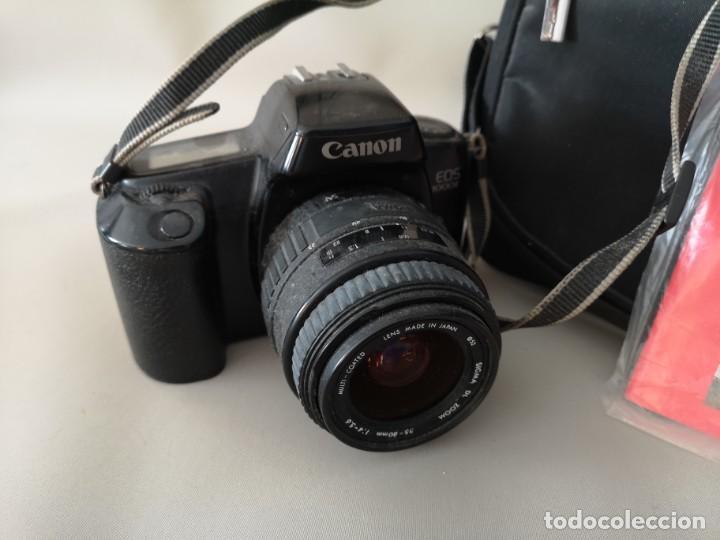 Cámara de fotos: IMPRESIONANTE CAMARA CANON EOS ,1000F,NO DIGITAL ,FUNCIONANDO,+BOLSA ,INSTRUCCIONES Y CARRETE - Foto 4 - 187408437