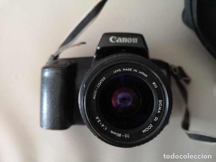 Cámara de fotos: IMPRESIONANTE CAMARA CANON EOS ,1000F,NO DIGITAL ,FUNCIONANDO,+BOLSA ,INSTRUCCIONES Y CARRETE - Foto 5 - 187408437