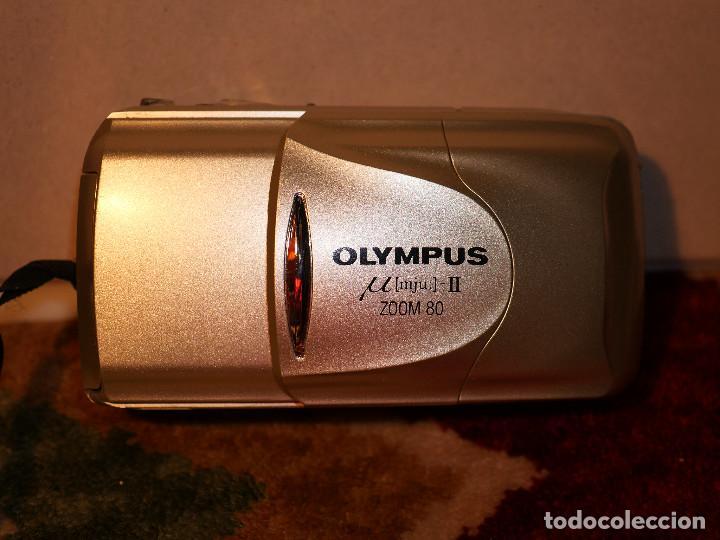 Cámara de fotos: Olympus mju II zoom 80 en estado de colección - Foto 2 - 188822387