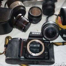 Appareil photos: CAMARAS Y LENTES DE DIFERENTES MARCAS COMO SE VE EN LAS FOTOS. Lote 189475730