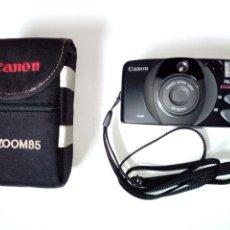 Cámara de fotos: CANON PRIMA ZOOM 85 - CÁMARA ANALÓGICA CON ZOOM 38-85MM - LOMOGRAPHY LOMO HIPSTER FOTOGRAFÍA. Lote 191339950