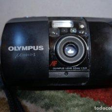 Cámara de fotos: OLYMPUS MJU I 35MM F3.5 CON SISTEMA DE FECHADO.. Lote 194870840