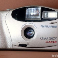 Cámara de fotos: CÁMARA FUJIFILM CLEAR SHOT 10 AUTO (ANALÓGICA, 35 MM.). Lote 195006388