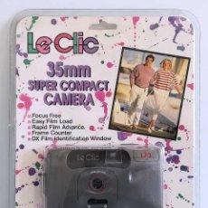 Cámara de fotos: CÁMARA DE FOTOS COMPACTA 35 MM. LECLIC SLIM LINE 170. Lote 195485903