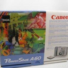 Cámara de fotos: CAMARA CANON POWERSHOT A60. Lote 197208428
