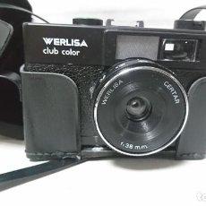 Cámara de fotos: CÁMARA DE FOTOS WERLISA CLUB COLOR. Lote 198562948