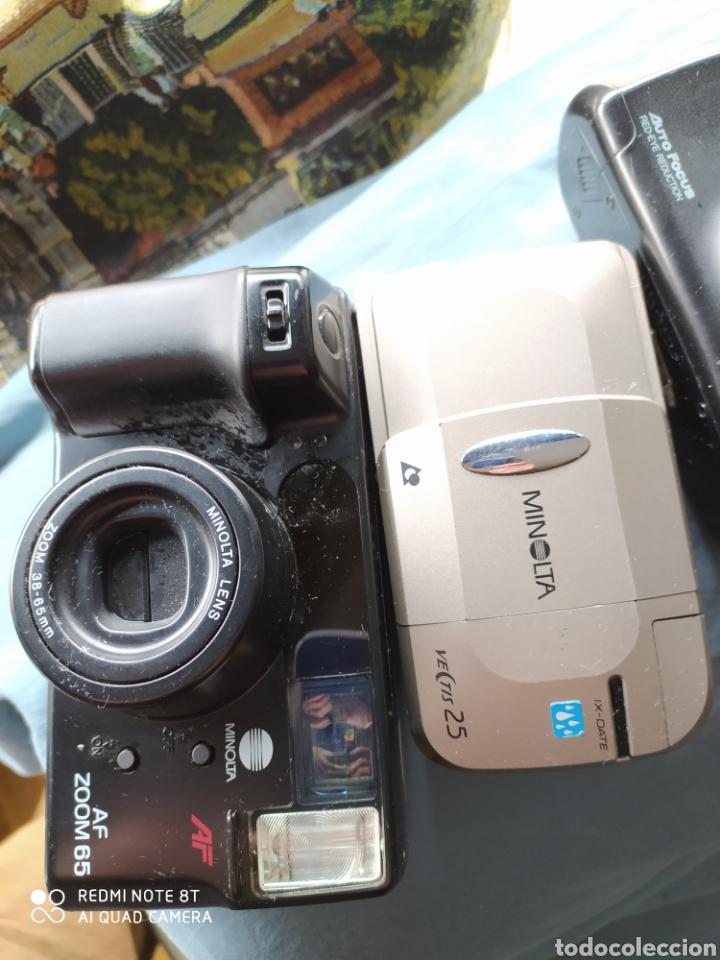 Cámara de fotos: Lote 5 cámaras antiguas de carrete - Foto 2 - 201299507