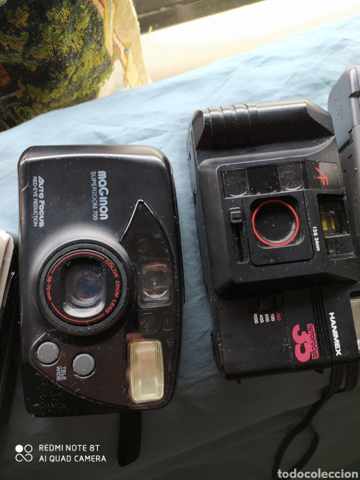 Cámara de fotos: Lote 5 cámaras antiguas de carrete - Foto 3 - 201299507