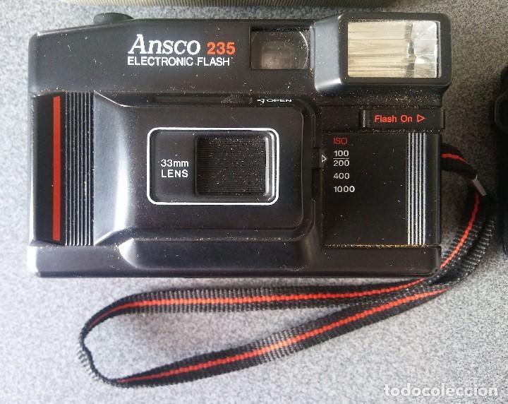 Cámara de fotos: Lote Cámaras Compactas Ansco 235 Canon Prima Junior DX - Foto 2 - 201485627