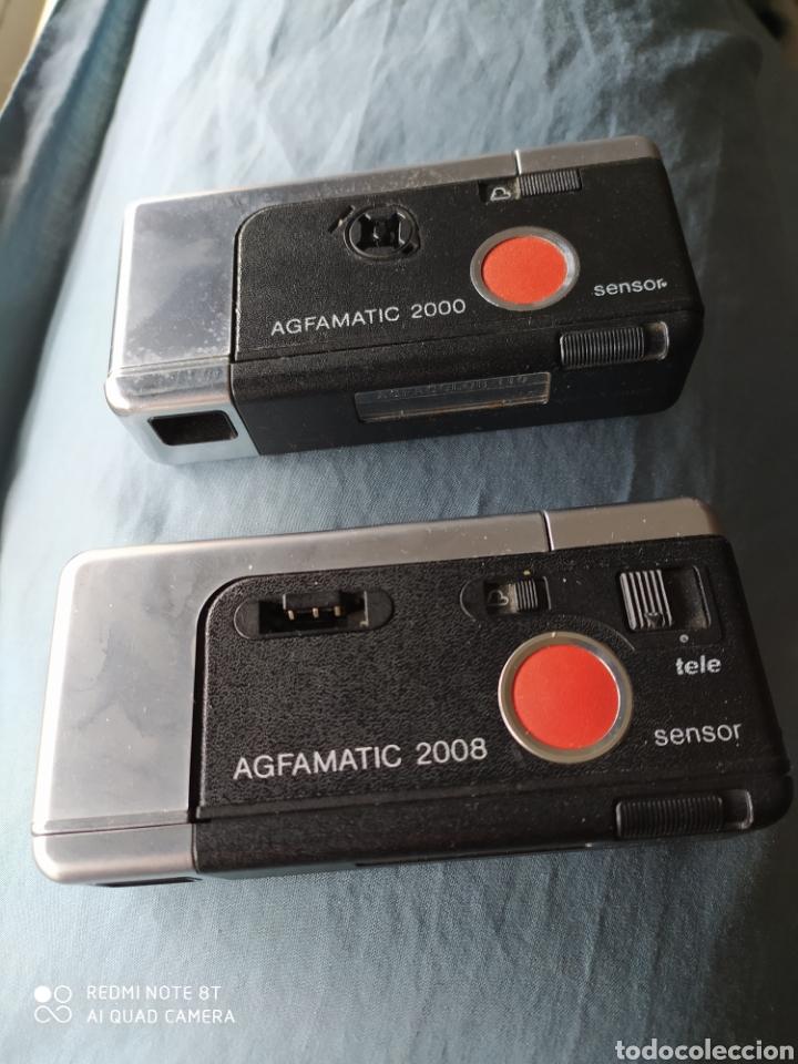 CÁMARAS AGFAMATIC 2000 Y 2008 (Cámaras Fotográficas - Panorámicas y Compactas)