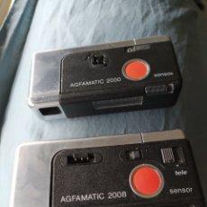 Cámara de fotos: CÁMARAS AGFAMATIC 2000 Y 2008. Lote 201590107