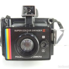 Cámara de fotos: CAMARA DE FOTOS POLAROID CAMERA SUPER COLOUR SWINGER II. Lote 204424512