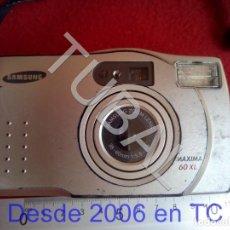 Cámara de fotos: TUBAL SAMSUNG CAMARA FOTOGRAFICA MAXIMA 60 XL CJ3. Lote 205569012
