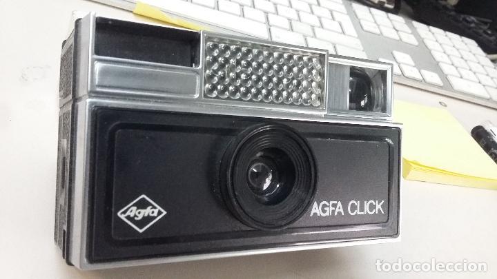 CAMARA FOTOS ANALOGICA COLOR AGFA CLICK RAPIT (Cámaras Fotográficas - Panorámicas y Compactas)