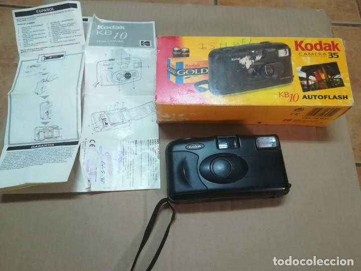 KODAK COMPACTA. KB 10 (Cámaras Fotográficas - Panorámicas y Compactas)
