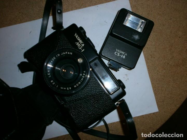 Cámara de fotos: MAQUINA DE FOTOS YASHICA MG-1 - Foto 2 - 206561051