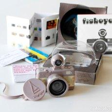 Cámara de fotos: CÁMARA FOTOGRÁFICA LOMOGRAPHY VOYAGER FISHEYE 2. EDICIÓN LIMITADA. EN SU CAJA ORIGINAL, CON MANUAL. Lote 206814778