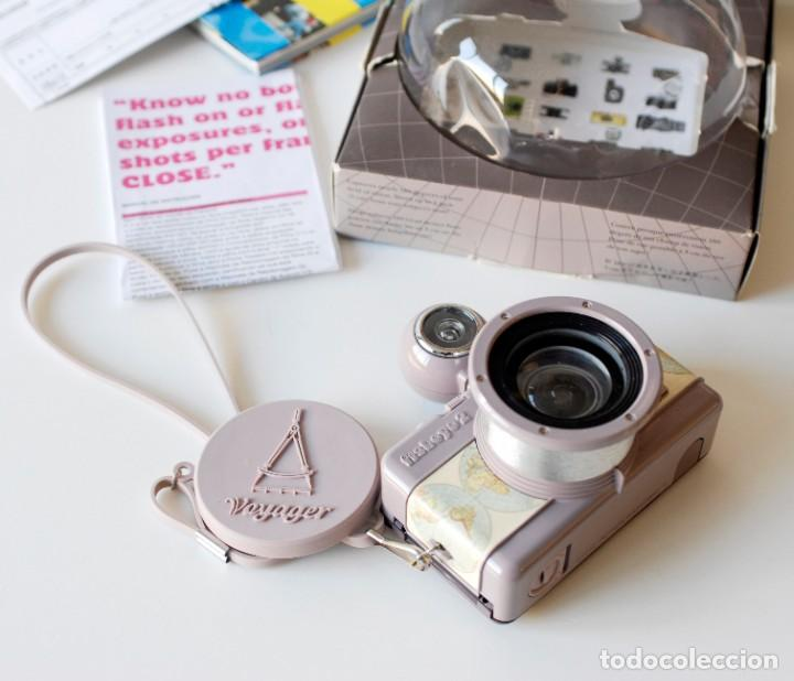 Cámara de fotos: Cámara fotográfica Lomography Voyager Fisheye 2. Edición limitada. En su caja original, con manual - Foto 3 - 206814778