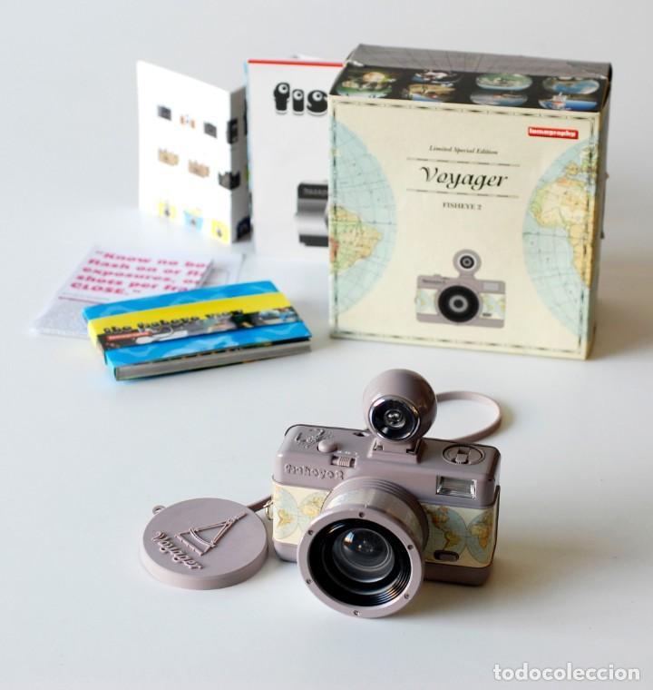 Cámara de fotos: Cámara fotográfica Lomography Voyager Fisheye 2. Edición limitada. En su caja original, con manual - Foto 5 - 206814778