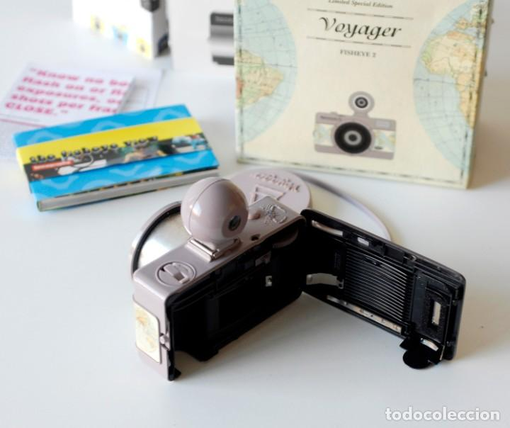 Cámara de fotos: Cámara fotográfica Lomography Voyager Fisheye 2. Edición limitada. En su caja original, con manual - Foto 7 - 206814778