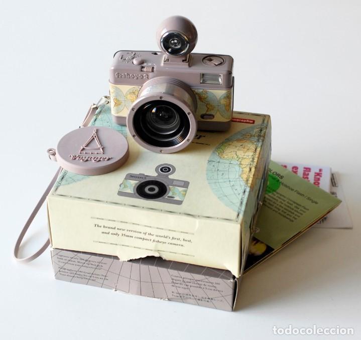 Cámara de fotos: Cámara fotográfica Lomography Voyager Fisheye 2. Edición limitada. En su caja original, con manual - Foto 8 - 206814778