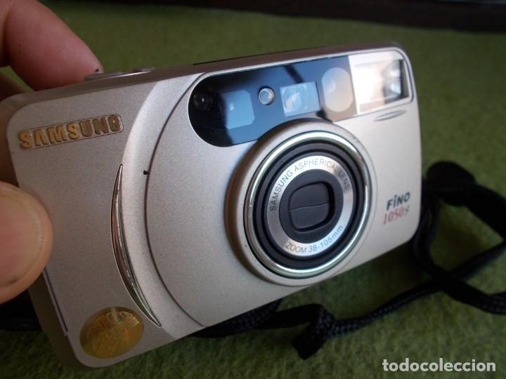 Cámara de fotos: Envio con TC: 3€. Camara Fotografica de carrete SAMSUNG FINO 1050-S con funda - Foto 2 - 209208487
