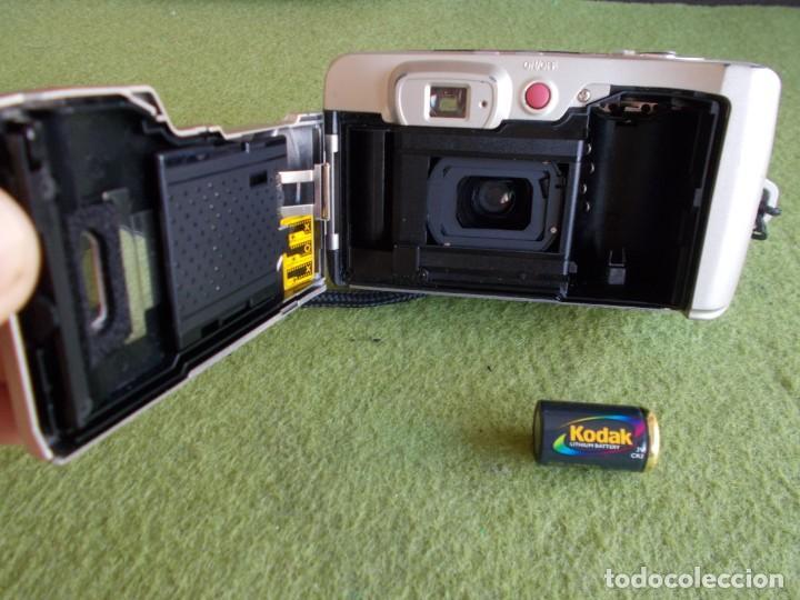 Cámara de fotos: Envio con TC: 3€. Camara Fotografica de carrete SAMSUNG FINO 1050-S con funda - Foto 5 - 209208487