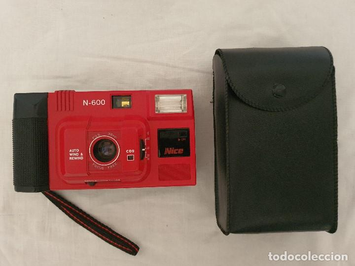 "CAMARA ANALOGICA COMPACTA NICE N-600 "" RARA "" (Cámaras Fotográficas - Panorámicas y Compactas)"