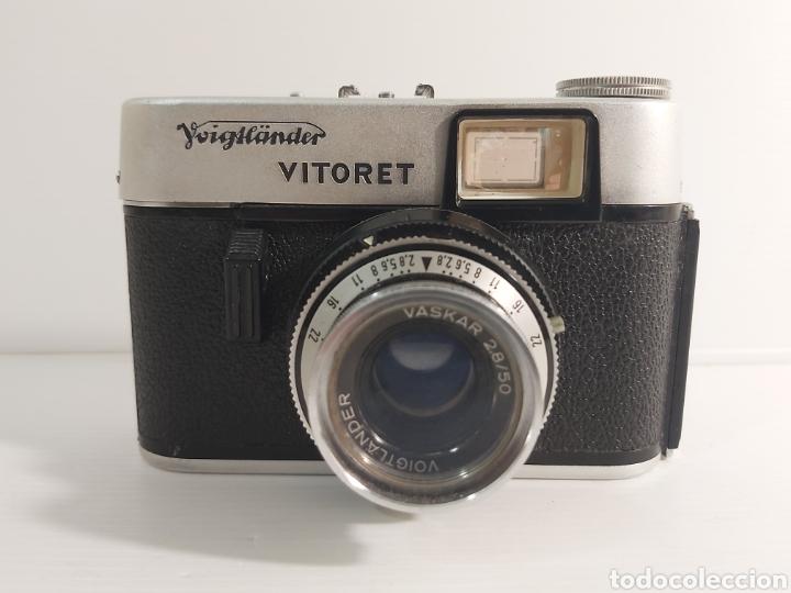 CÁMARA FOTOGRÁFICA VOIGTLANDER VITORET (Cámaras Fotográficas - Panorámicas y Compactas)