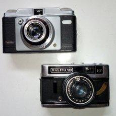 Cámara de fotos: DOS CÁMARAS PARA REPARAR O PIEZAS - DACORA Y HALINA 500 - NO FUNCIONAN -. Lote 210963554