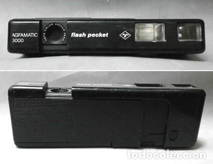 CÁMARA AGFAMATIC 3000 FLASH POCKET - FUNCA-004 (Cámaras Fotográficas - Panorámicas y Compactas)