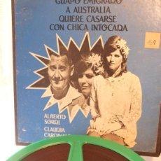 Cámara de fotos: PELICULA LARGOMETRAJE SUPER 8 4 BOBINAS 180 MM SEGUNDA MANO EMIGRADO A ,A AUSTRALIA. Lote 213619155