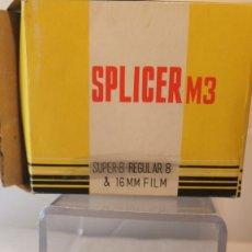 Cámara de fotos: EMPALMADORA SUPER 8 SPLICER-M-3. Lote 213622180