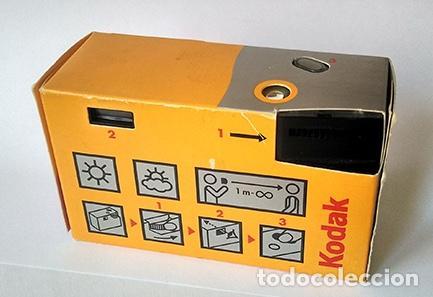 Cámara de fotos: Cámara desechable Kodak Fun Panoramic. Para 15 fotos panorámicas. Sin utilizar - Foto 2 - 215567551